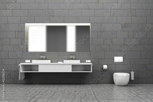 Badezimmer bad wc innenraum interieur wohnen for Interieur wohnen