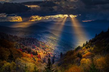 Autumn Sunrise in the Smokies