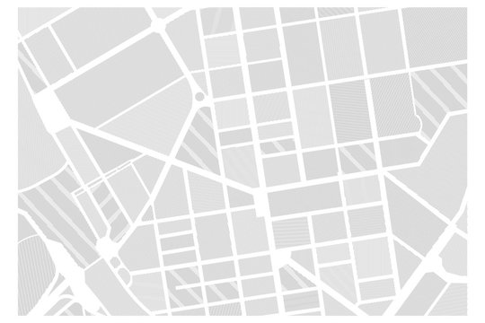Black and white graphic city map texture in stripes