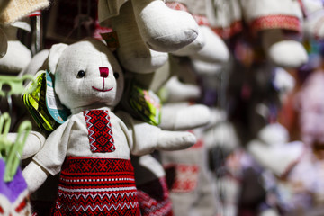 Christmas decorations and rope retro Ukraine
