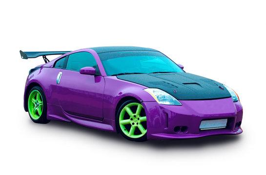 Japanese sports luxury car