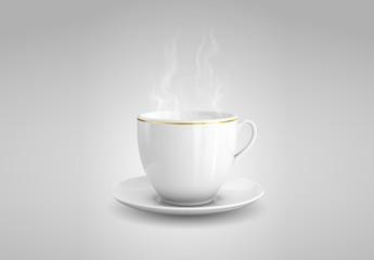 Gold-Rimmed Cup Illustration 2