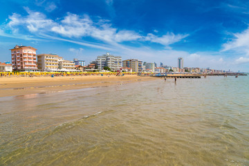 Beach of Lido di Jesolo
