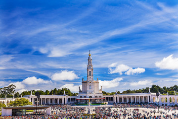 May 13th Celebration Mary Appearance Fatima Portugal