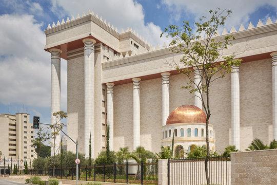 Temple of Solomon in Sao Paulo city.