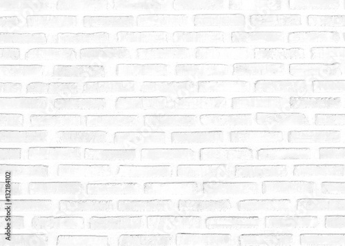 White Brick Wall Texture Interiors Background Gray Cementconcrete Brushed Painted Outdoor House