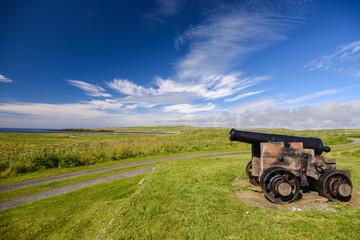 Cannon in Scotland