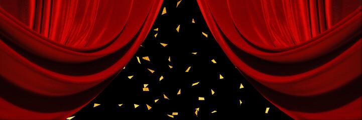 ステージ バナー カーテン