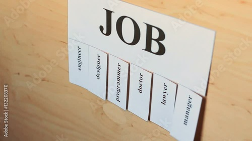 jobs tearing after hand