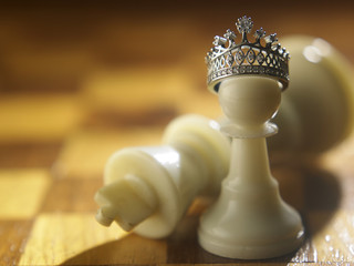 from pawn be a king