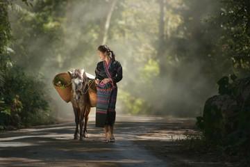 Young ethnic Lao