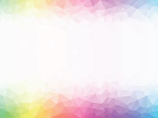 rainbow colored geometric background