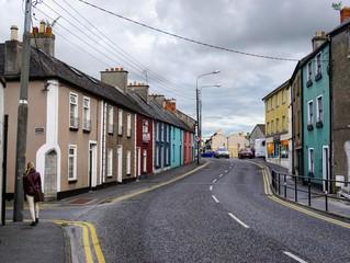 Straße in Kilkenny, Irland
