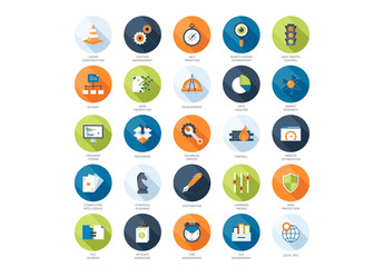 25 Analytics and Content Icons