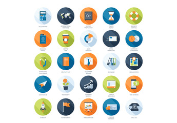 25 Business Services Icons