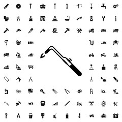 blowtorch  icon illustration