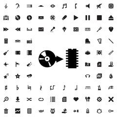 disc icon illustration