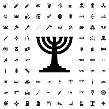 menorah icon illustration