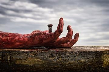 Crucifixion Fototapete