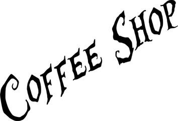 Coffee Shop Sign