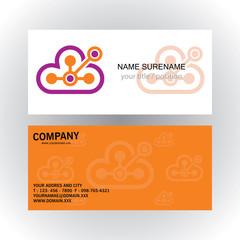 cloud connection technology logo
