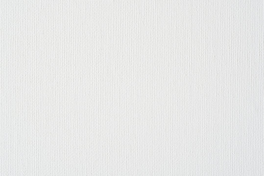 white canvas paper texture for background