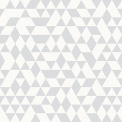 Seamless Silver Pattern of geometric shapes