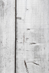 Rustic old barn wood wall close up. White wash paint. Background