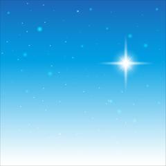 Starry Sky. On the blue sky the stars
