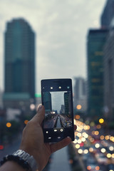 Mobile photography in the city