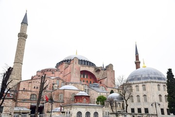 Hagia Sophia, One of Most Important Architectural Wonders of Istanbul, Turkey