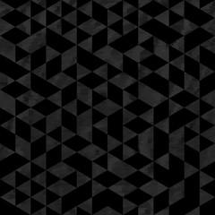 Seamless Silver Pattern of geometric shapes