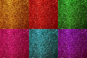 colorful shiny glitter background texture sparkling lights