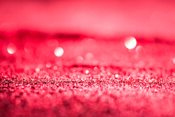 Textured abstract background Glitter pink or red elegant.