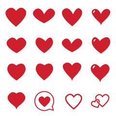 Heart Icon Vector , Love Symbol  Valentine's Day