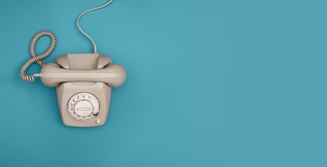 Telephone header