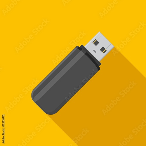 how to use flat usb stick