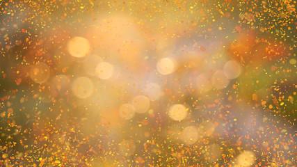 glowing golden background