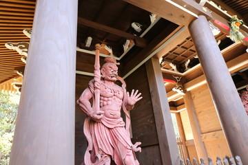 宮島弥山登山道の仏像