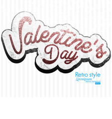paper Valentines day card vector background