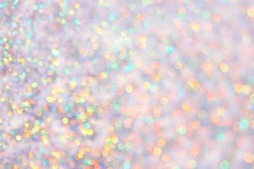 Rainbow diamond background bokeh