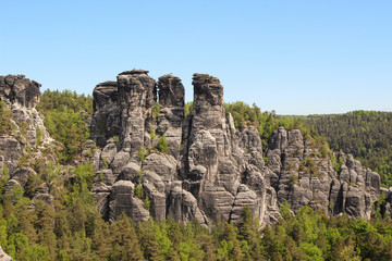 Saxon Switzerland, Elbe Sandstone Mountains