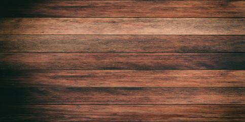 Old wooden planks background. 3d illustration