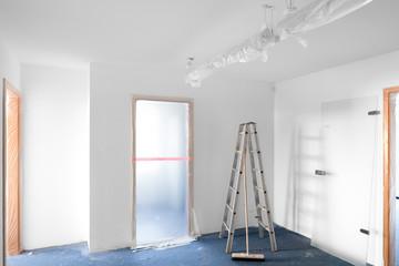 Renovierungsarbeiten Baustelle