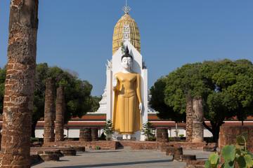 big buddha at Phitsanulok Province, Thailand.