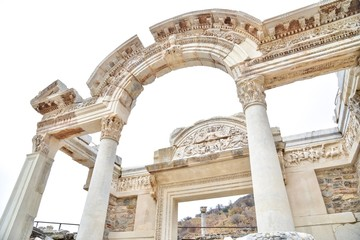 The Arch of Temple of Hadrian at Ephesus, Turkey