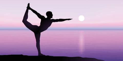 Zen - Yoga - Méditation - Homme - Relaxation