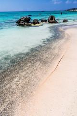 Elafonisi beach on Crete