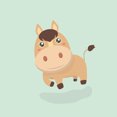 Cute horse.