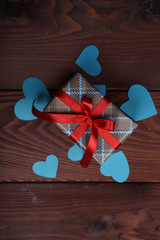 beautifully wrapped holiday gift for a loved one